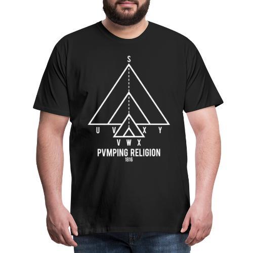 PVMPING RELIGION - Maglietta Premium da uomo