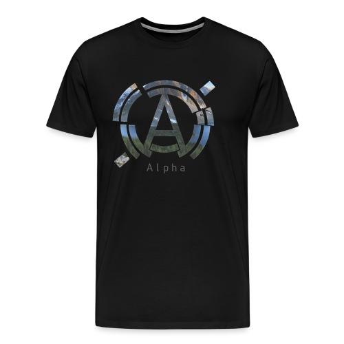 AlphaOfficial Logo T-Shirt - Men's Premium T-Shirt