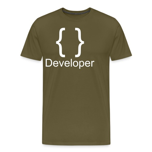 Developer - Männer Premium T-Shirt