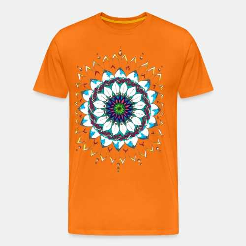Flower Mandala 2016 - Men's Premium T-Shirt