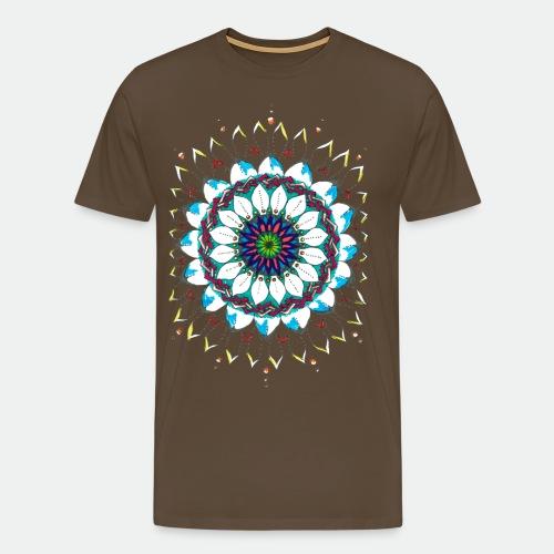 Flower Mandala 2016 - Men's Premium T-Shirt