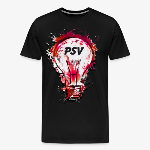light bulb psv - Mannen Premium T-shirt