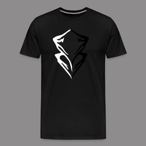 Summit Mountain Logo - Men's Premium T-Shirt