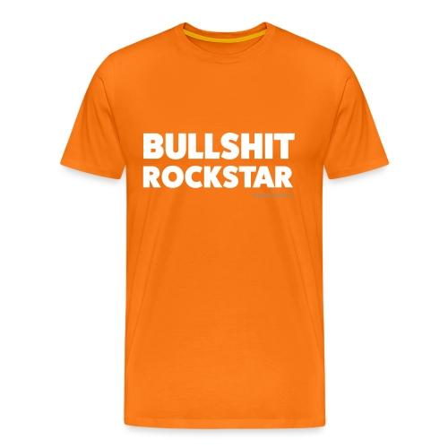Bullsh*t Rock Star - T-shirt Premium Homme