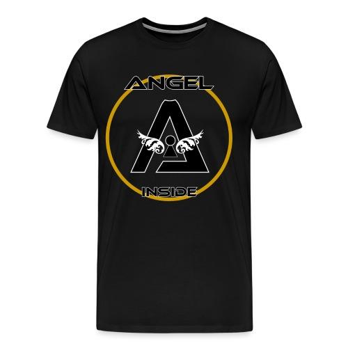 ANGEL INSIDE-01 - Maglietta Premium da uomo