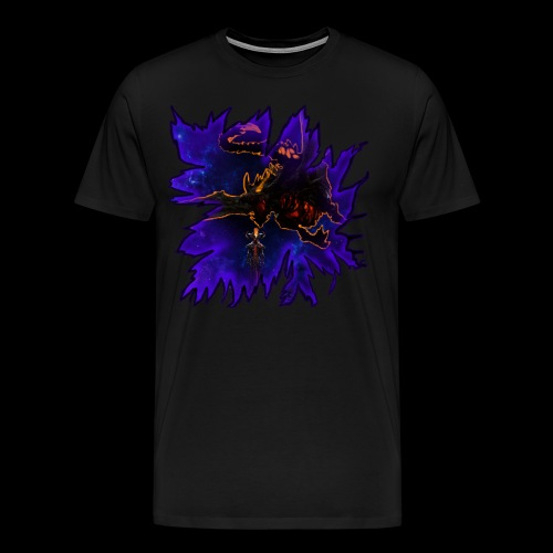 Galaxy dragon - Men's Premium T-Shirt