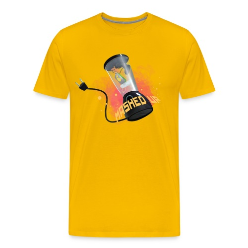 mashedtshirt - Premium-T-shirt herr