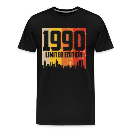 Vintage Geburtstag Limited Edition Jahrgang 1990 - Männer Premium T-Shirt
