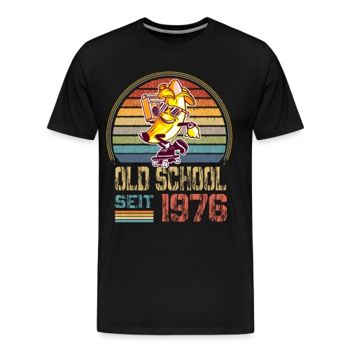 Skater Skateboard Geburtstag Jahrgang 1976 - Männer Premium T-Shirt