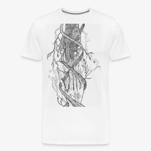 Reconnect - Narrow Transparent Edition by Rivinoya - Miesten premium t-paita