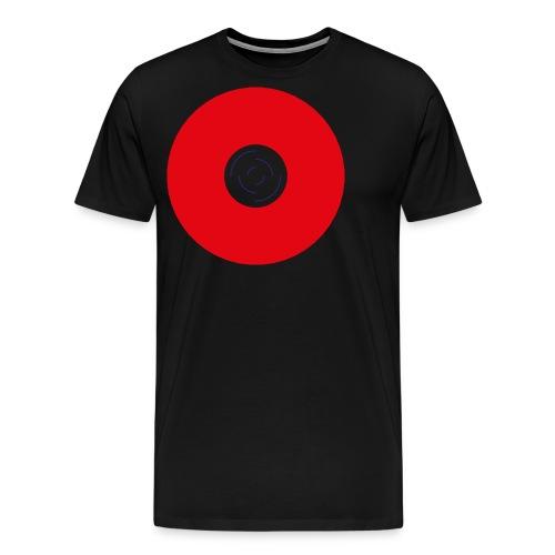 Unbenannt 222 - Roter Kreis mit Mitte - Männer Premium T-Shirt