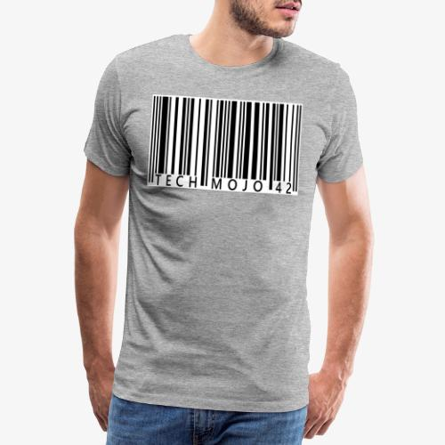 TM graphic Barcode Answer to the universe - Men's Premium T-Shirt