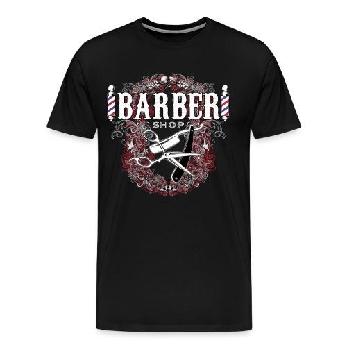 Barber Shop_03 - Maglietta Premium da uomo