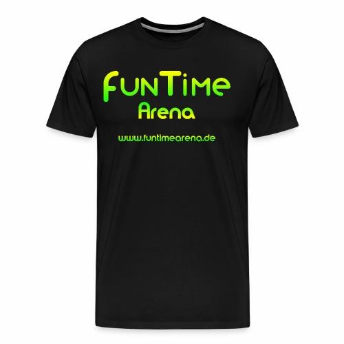 FunTime Arena Logo - Männer Premium T-Shirt