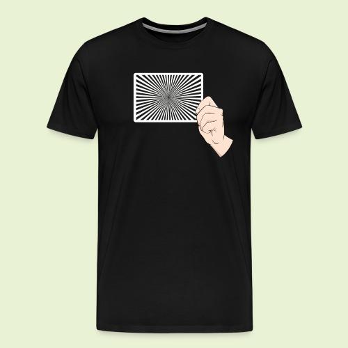 siemensstern comic rechts - Männer Premium T-Shirt