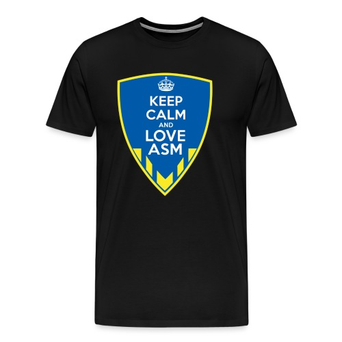 Blason Keep Calm And Love ASM - T-shirt Premium Homme