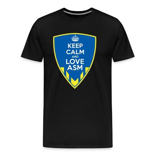 Blason Keep Calm And Love ASM - T-shirt Premium Homme