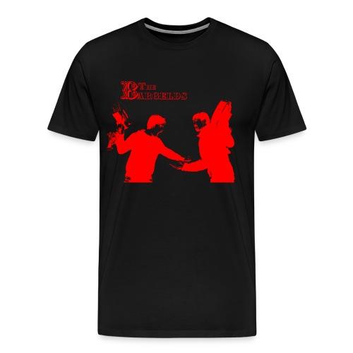 Streit rot - Männer Premium T-Shirt