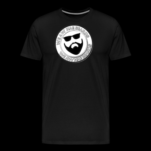 CIRCLE STAMP LOGO - Men's Premium T-Shirt
