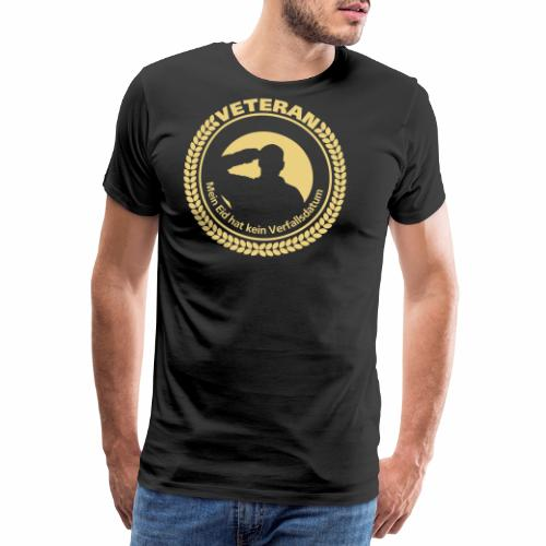 Veteran - Mein Eid hat kein Verfallsdatum - Männer Premium T-Shirt