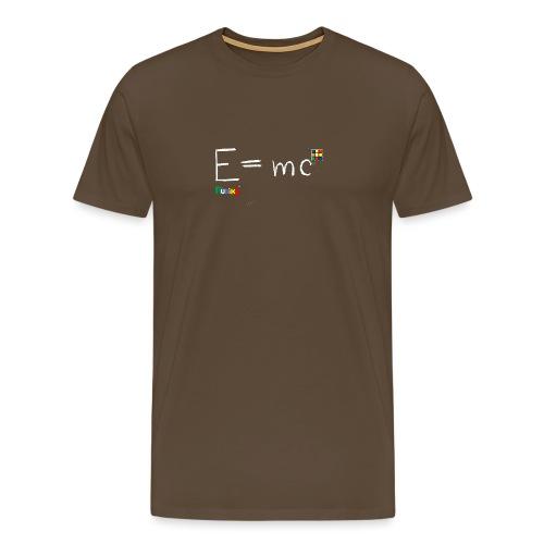 Rubik's E = mc - Men's Premium T-Shirt