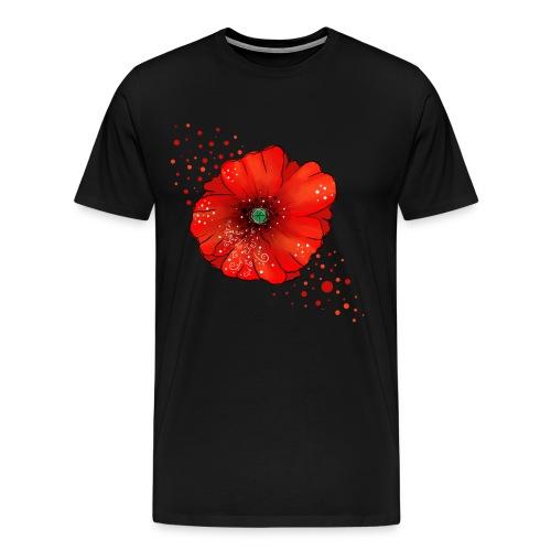 Mohnblume - Männer Premium T-Shirt