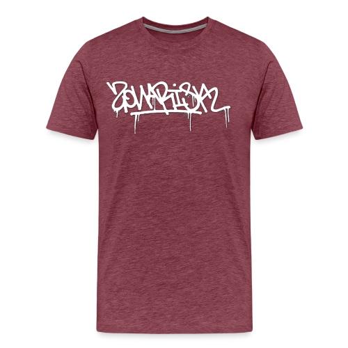 Zonarisk Logo Blanc - T-shirt Premium Homme