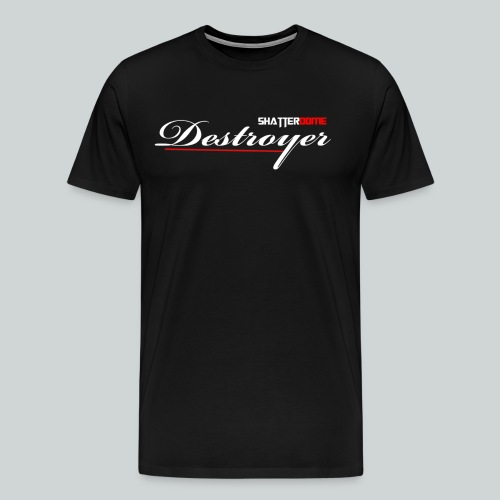 Tshirt Destroyer Motiv png - Männer Premium T-Shirt