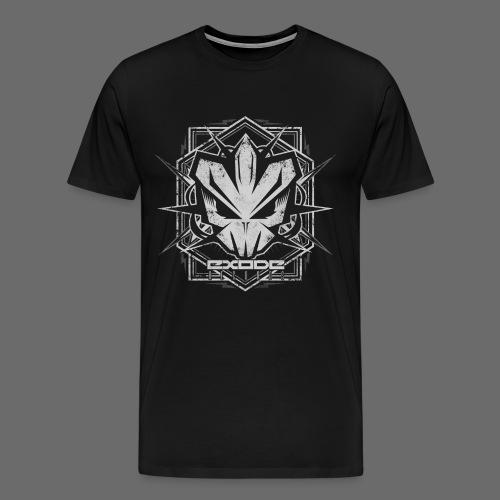 faceboook design png - T-shirt Premium Homme