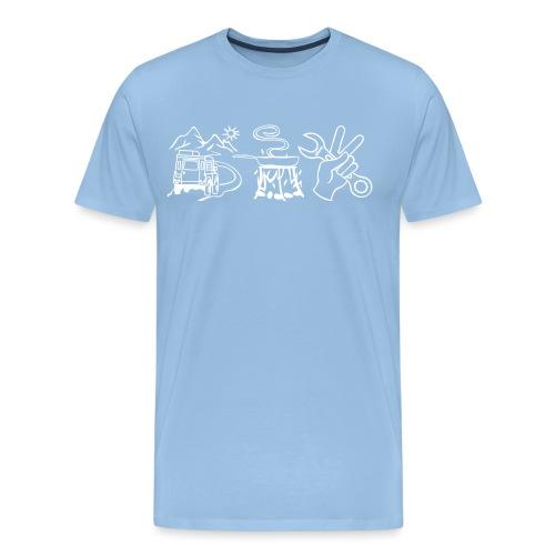 fahrenessenschrauben - Männer Premium T-Shirt