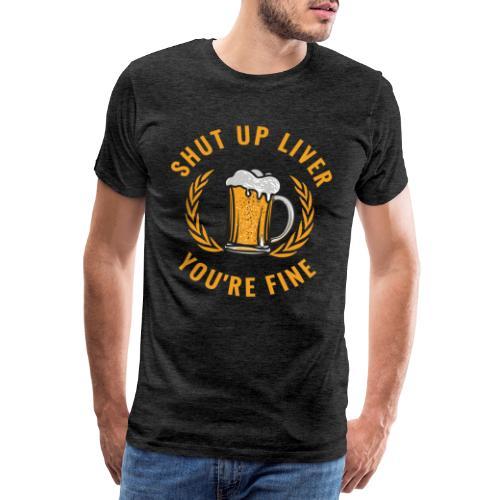 Beer Design - Miesten premium t-paita