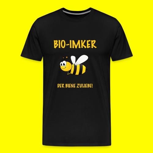 Bio Imker - Männer Premium T-Shirt