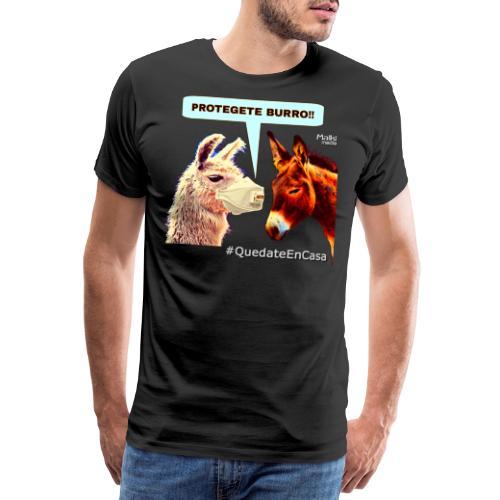 PROTEGETE BURRO - Men's Premium T-Shirt