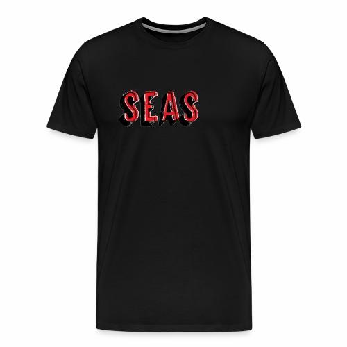 SEAS gesprueht - Männer Premium T-Shirt