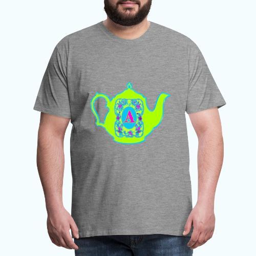 Wonders & Madness Tea Party - Men's Premium T-Shirt