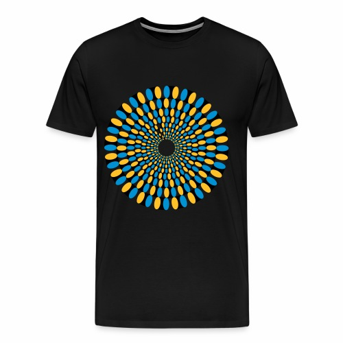 Optische Taeuschung - Männer Premium T-Shirt