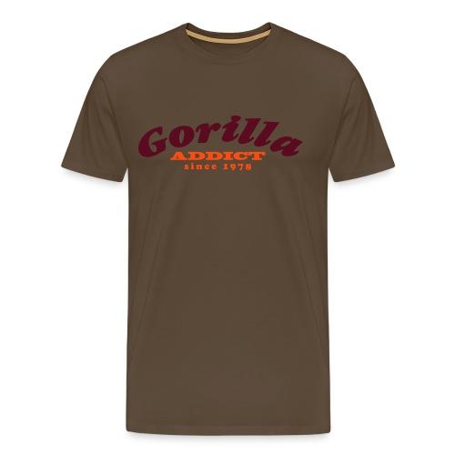 gorillaaddict02 - T-shirt Premium Homme