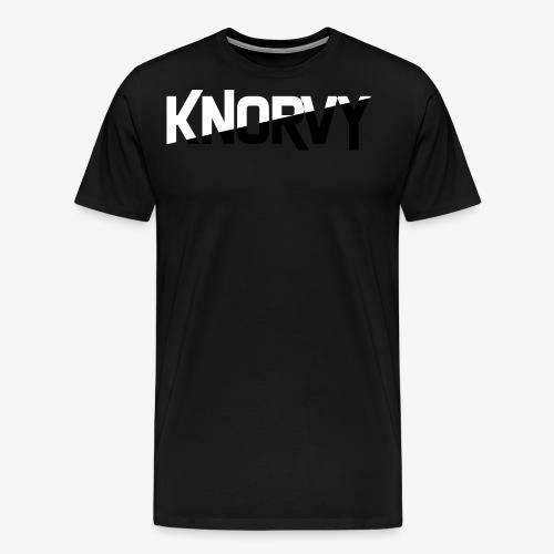 KNORVY - Mannen Premium T-shirt