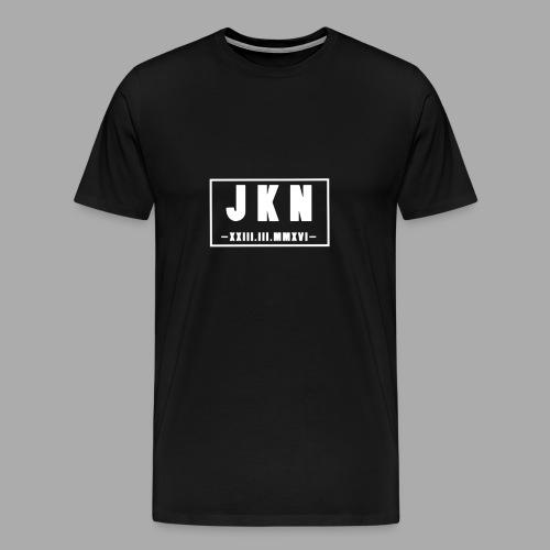 JKN DATUM png - Männer Premium T-Shirt