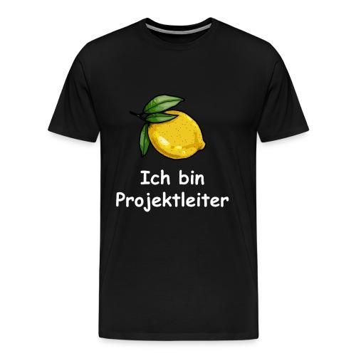Projektleiter png - Männer Premium T-Shirt