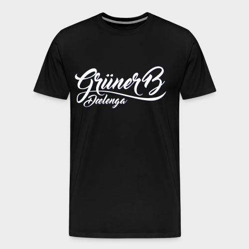 Grüner B Dælenga NoBG - Premium T-skjorte for menn