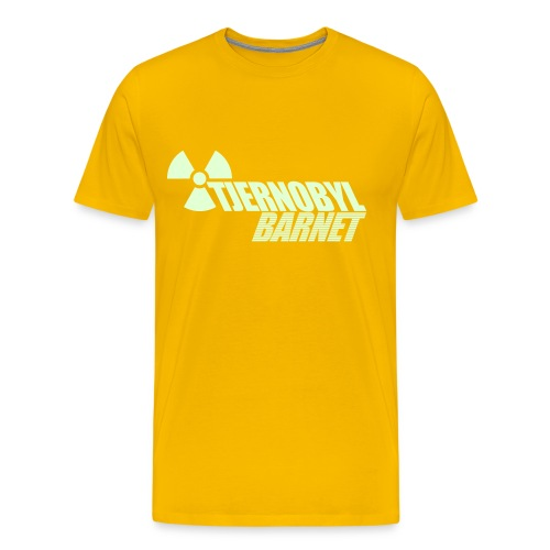 TJERNOBYL - Premium-T-shirt herr