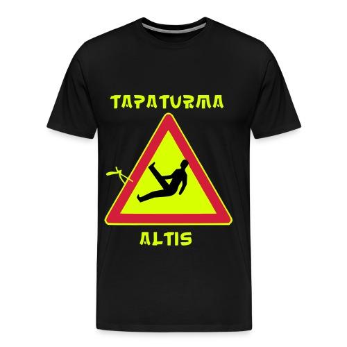 tapaturmaaltis3 - Miesten premium t-paita