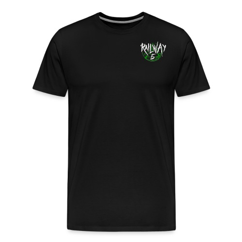 Railway 5 Logo Color - Männer Premium T-Shirt