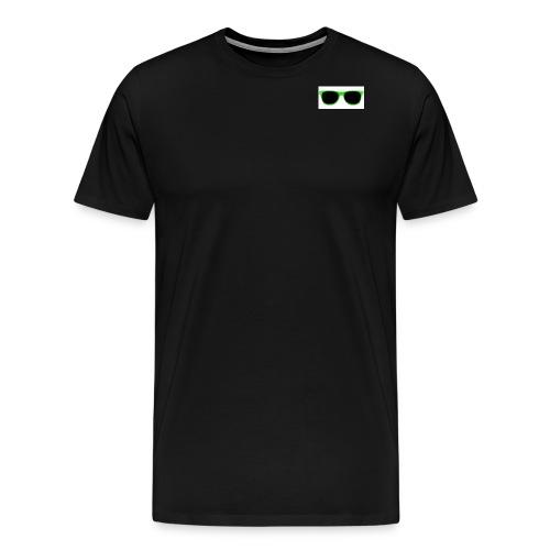 lunette de soleil verte - Männer Premium T-Shirt