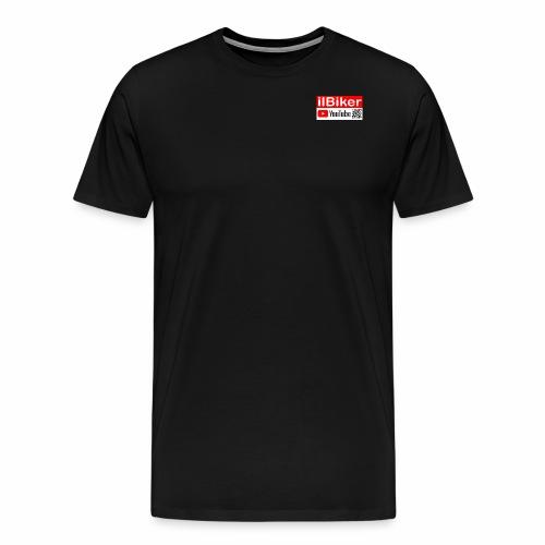 ilBiker - Logo rettangolo - Maglietta Premium da uomo
