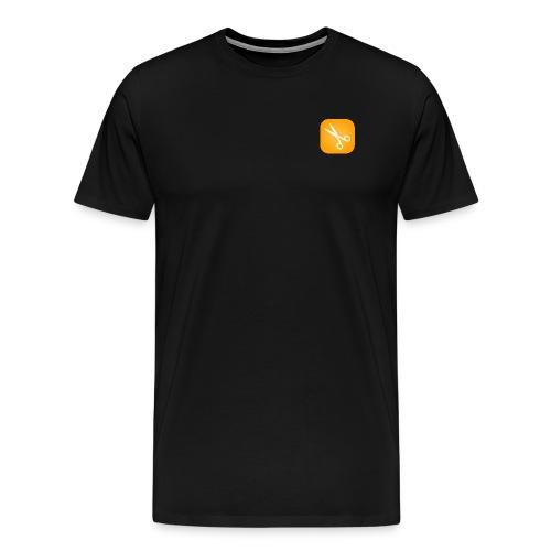 Scherenmotiv - Männer Premium T-Shirt