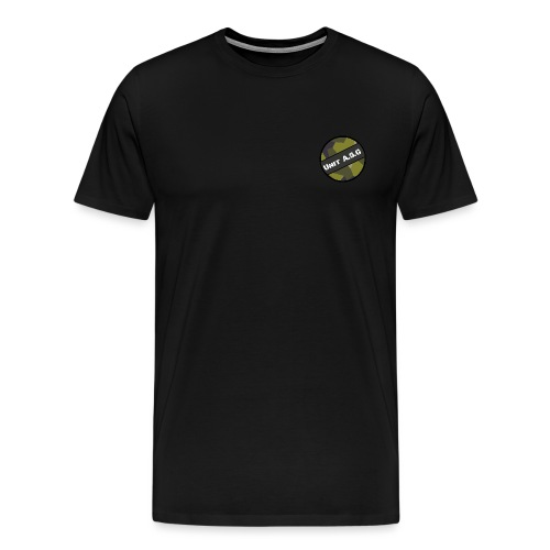 UnitASG badge - Premium-T-shirt herr