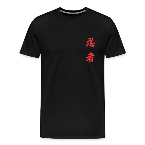 04 Ninja Rosso - Maglietta Premium da uomo