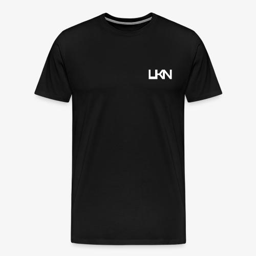 UKN Just White Text - Men's Premium T-Shirt